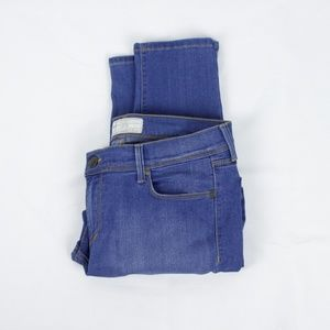 Free People Blue Skinny Jeans in Size 31